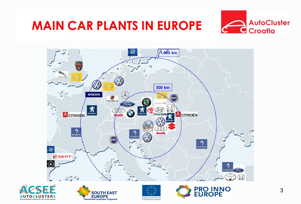 MAIN CAR PLANTS IN EUROPE 3