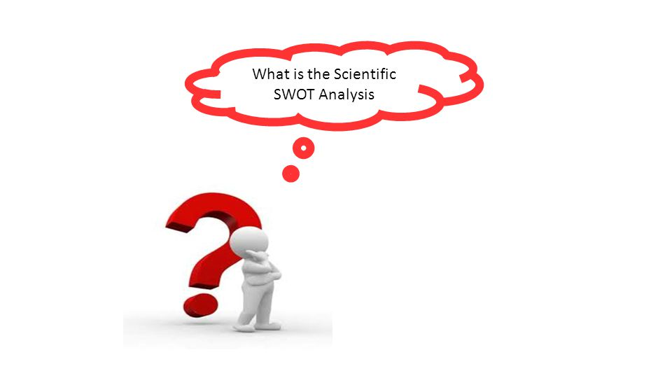 What is the Scientific SWOT Analysis