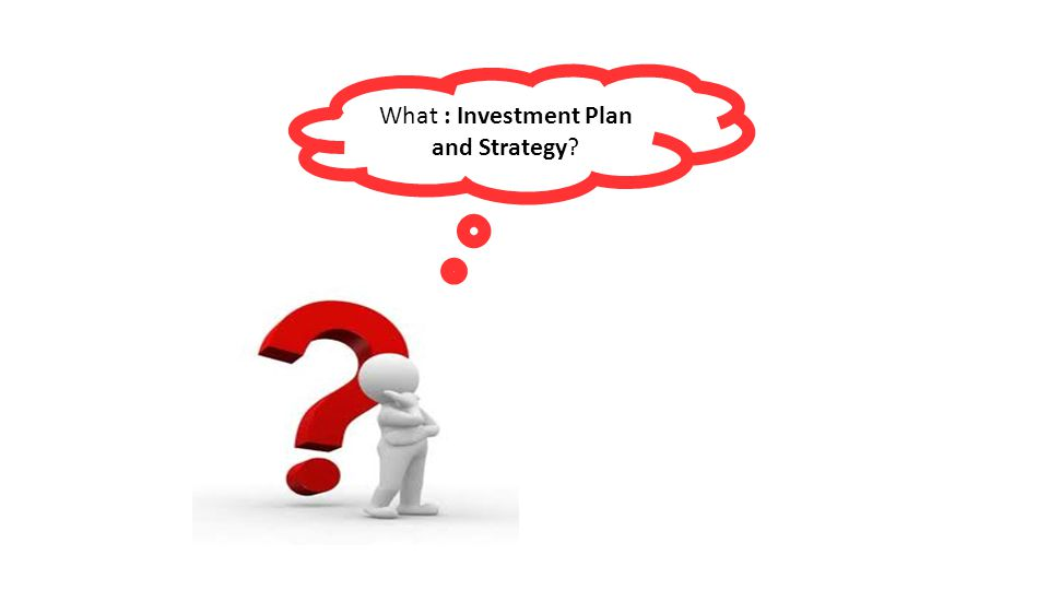 What : Investment Plan and Strategy