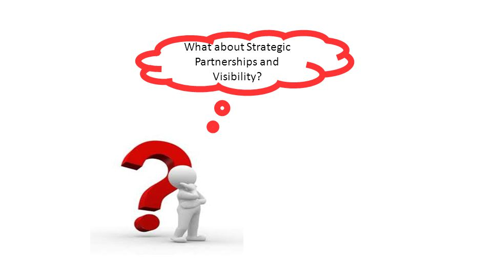 What about Strategic Partnerships and Visibility
