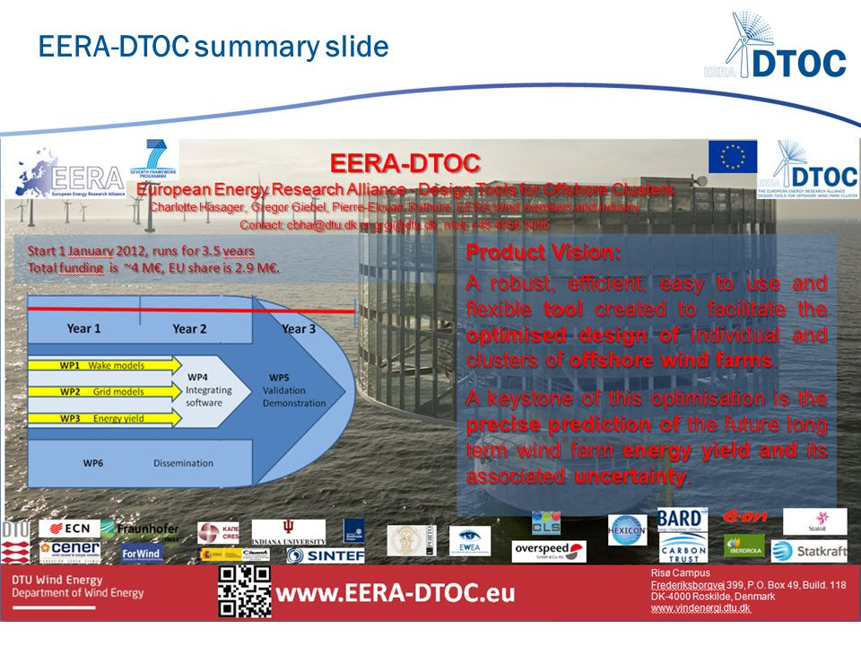 EERA-DTOC summary slide