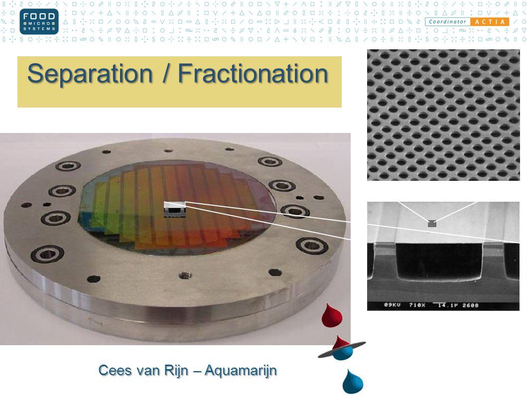 Cees van Rijn – Aquamarijn Separation / Fractionation