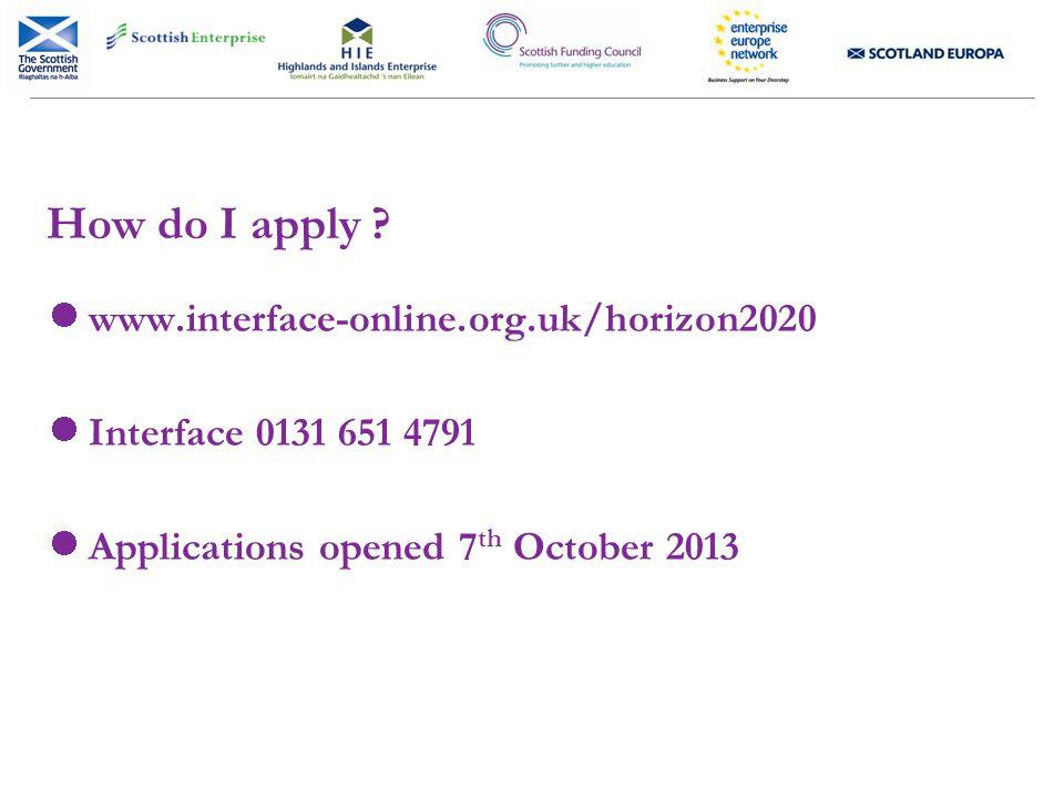 How do I apply .