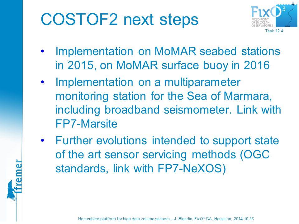 Non-cabled platform for high data volume sensors – J.