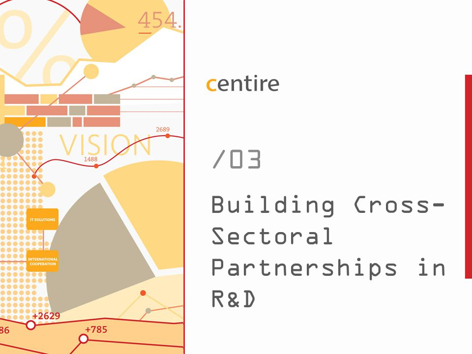 13 Building Cross- Sectoral Partnerships in R&D /03