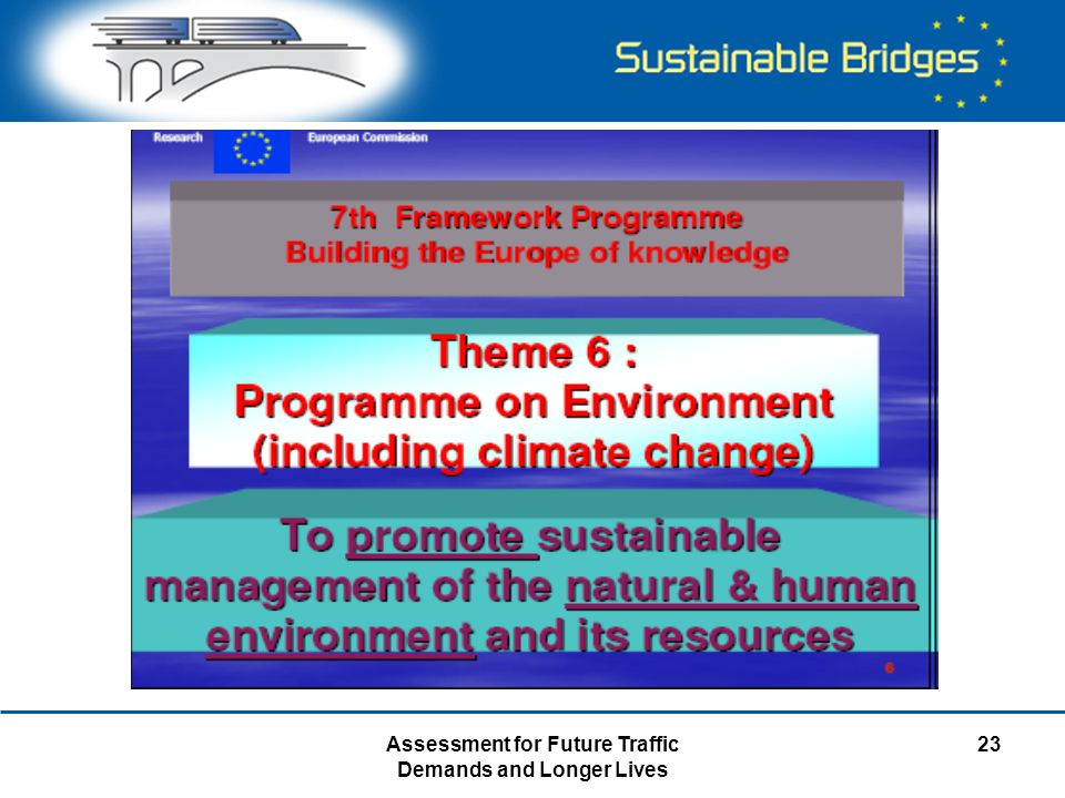 Assessment for Future Traffic Demands and Longer Lives 23