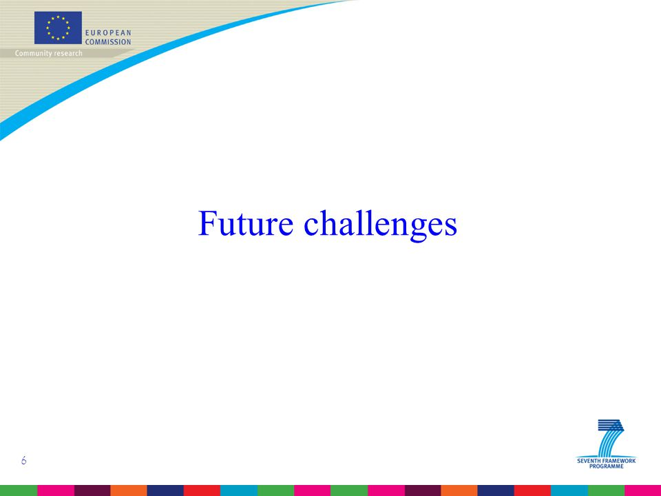 6 Future challenges