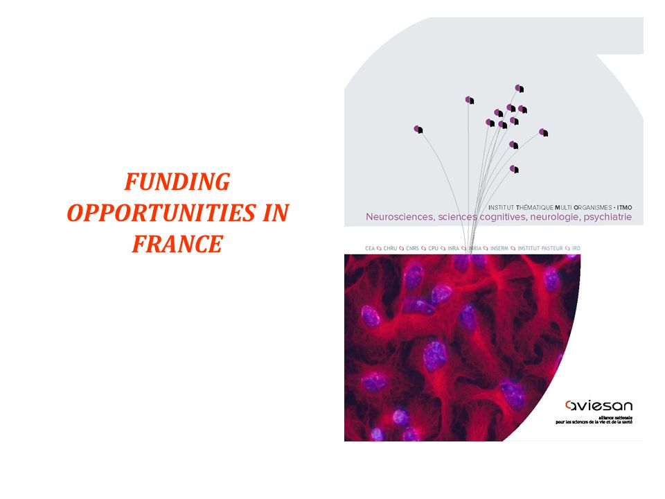 12 FUNDING OPPORTUNITIES IN FRANCE 15.11.2011
