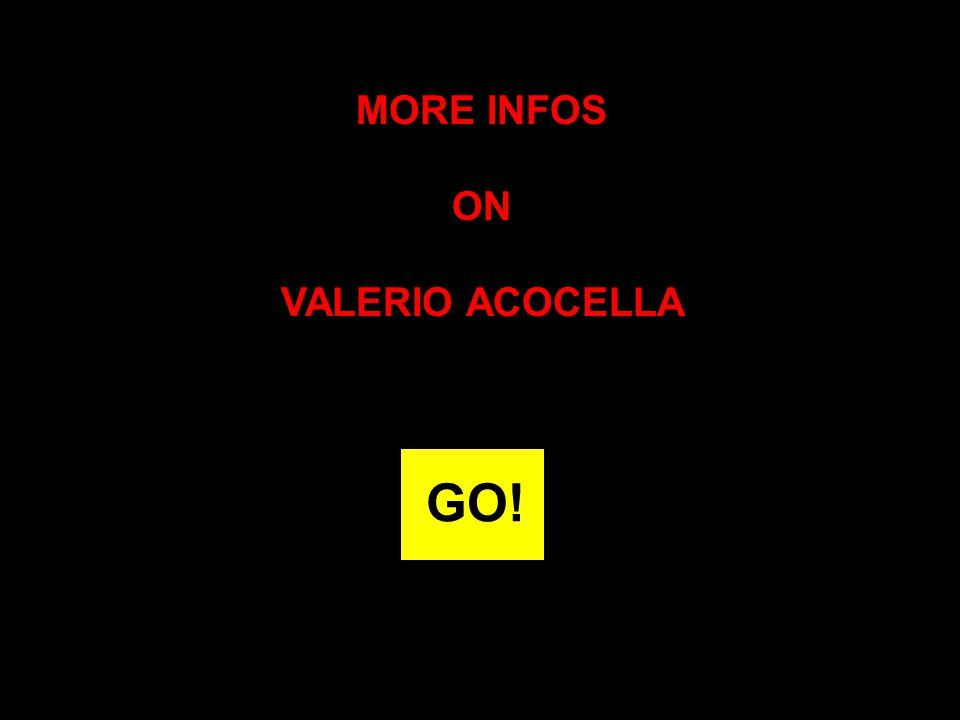 MORE INFOS ON VALERIO ACOCELLA GO!