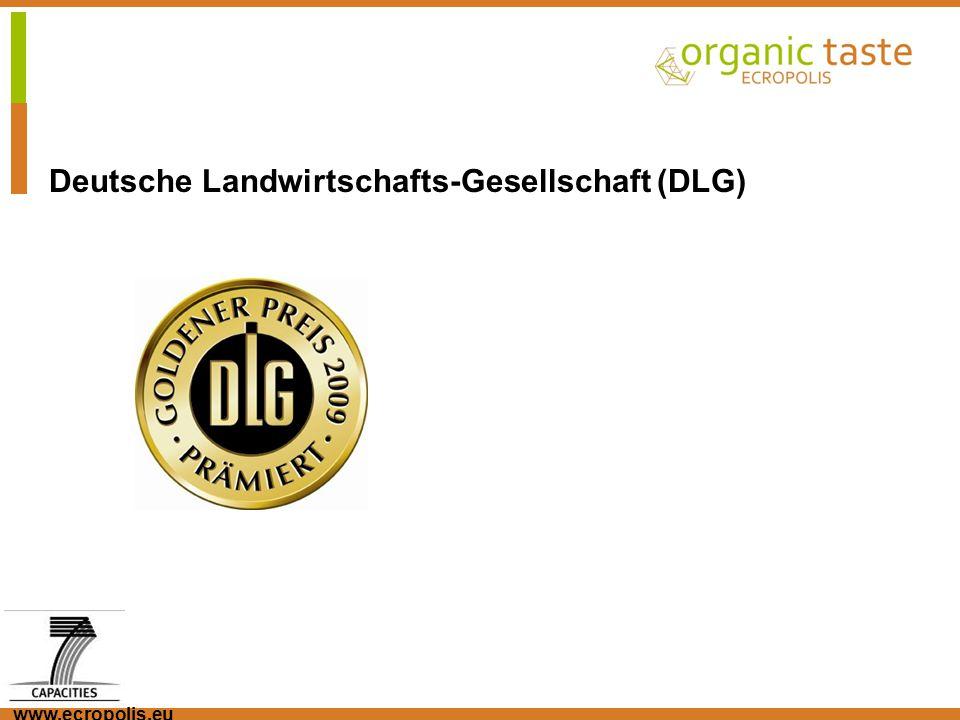 www.ecropolis.eu Deutsche Landwirtschafts-Gesellschaft (DLG)