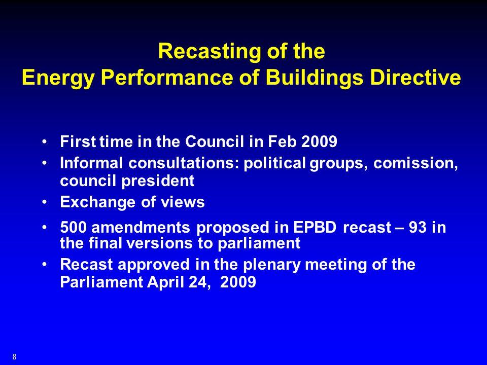 Target groups of BUILD UP Public Authorities Building Professionals Building Occupants