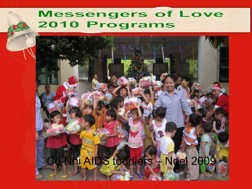 Cô Nhi AIDS toddlers – Noel 2009