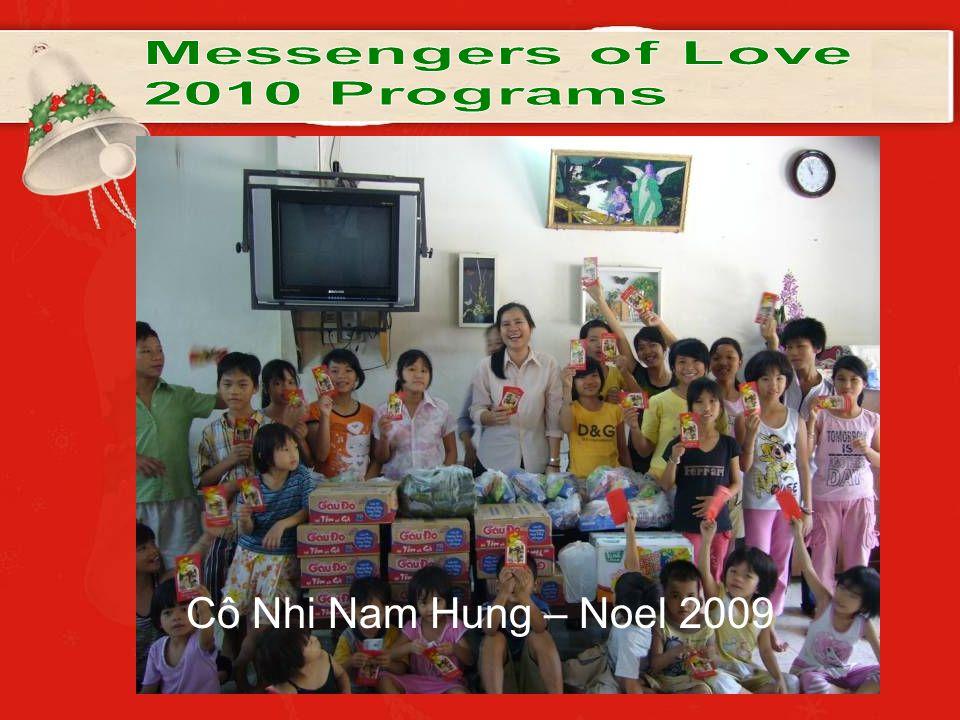 Cô Nhi Nam Hung – Noel 2009