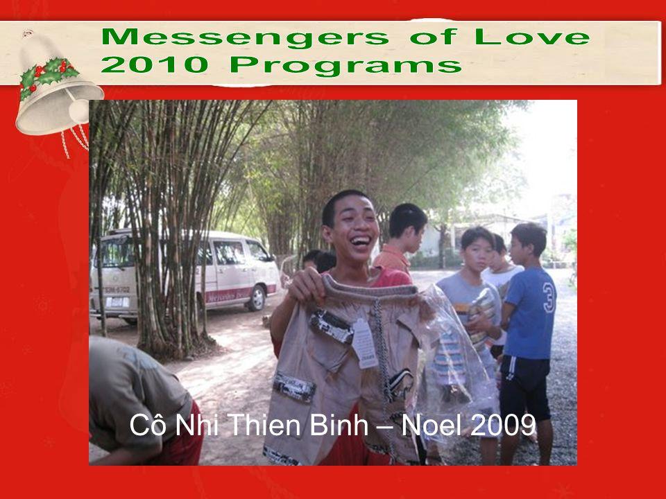 Cô Nhi Thien Binh – Noel 2009