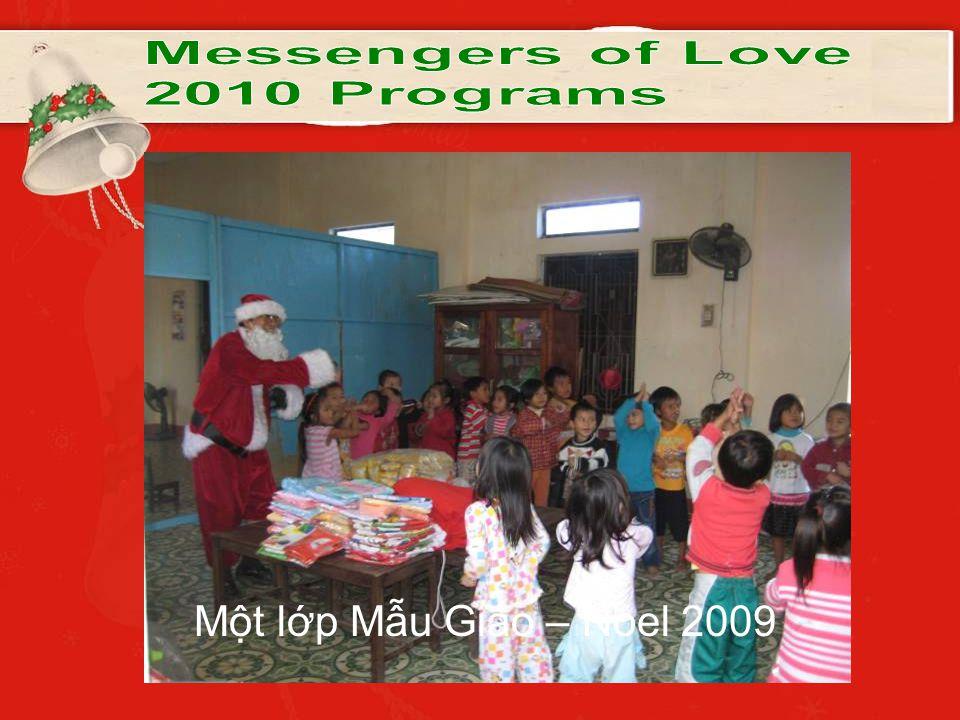 Một lớp Mẫu Giáo – Noel 2009