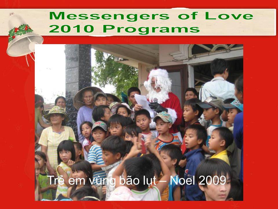 Trẻ em vùng bão lụt – Noel 2009