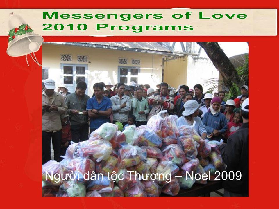 Người dân tộc Thượng – Noel 2009