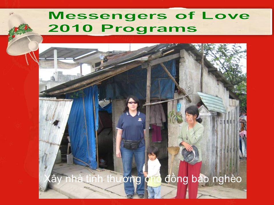 Xây nhà tình thương cho đồng bào nghèo