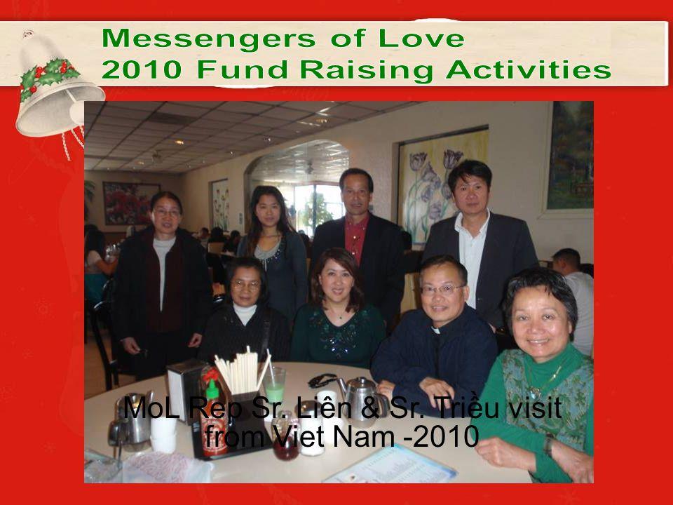 MoL Rep Sr. Liên & Sr. Triều visit from Viet Nam -2010