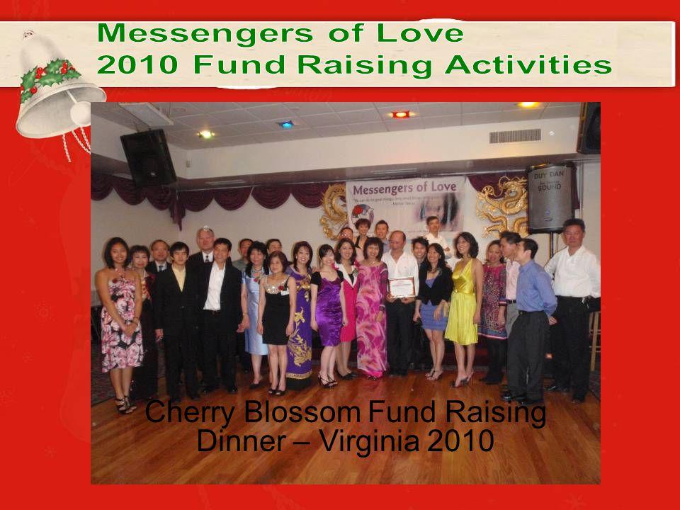 Cherry Blossom Fund Raising Dinner – Virginia 2010
