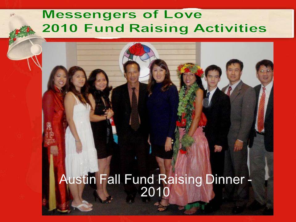 Austin Fall Fund Raising Dinner - 2010