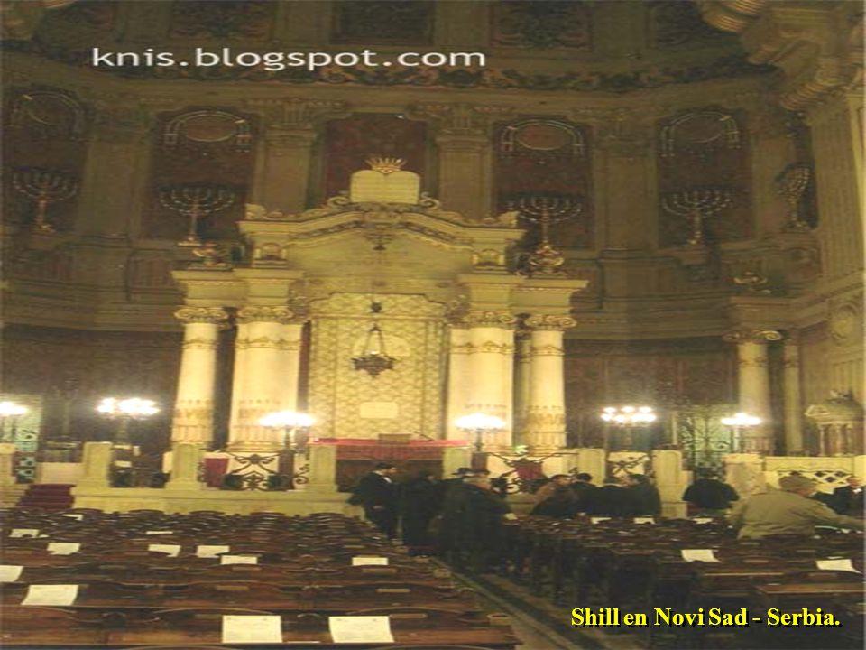 """Sinagoga """"Hejal Yehuda"""" Tel Aviv Ritos Judíos de Salónica - Grecia."""