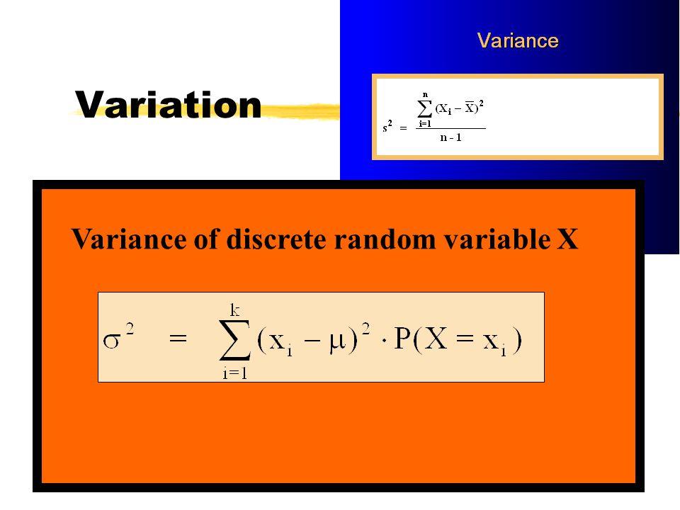 Probability Great0.20 Good0.40 OK0.25 Economic Scenario Profit ($ Millions) 5 1 -4Lousy0.15 10 P(X=x 4 ) X x1x1 x2x2 x3x3 x4x4 P P(X=x 1 ) P(X=x 2 ) P(X=x 3 ) P.