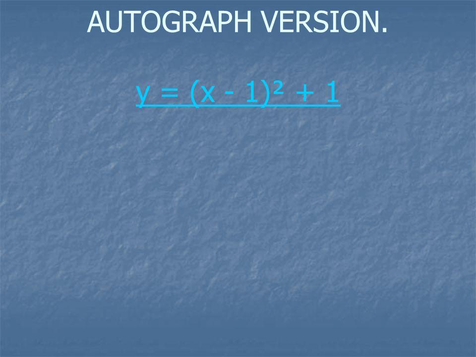 x = 1 + i x = 1 – i