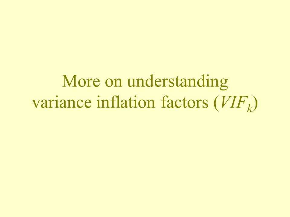Is the variance of b 2 inflated by a factor of 18.7?