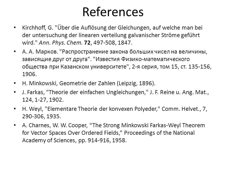 References Kirchhoff, G.