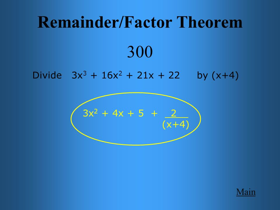 Zeros 400 Main Get Answer How many real and imaginary zeros are there for the function: f (x) = x 3 + 3x 2 – 6x – 6