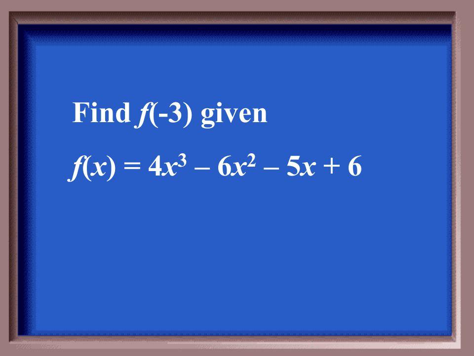 x 4 + 2x 3 + 5x 2 + 10x + 20. R. 45