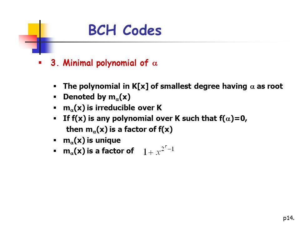 p14.BCH Codes  3.