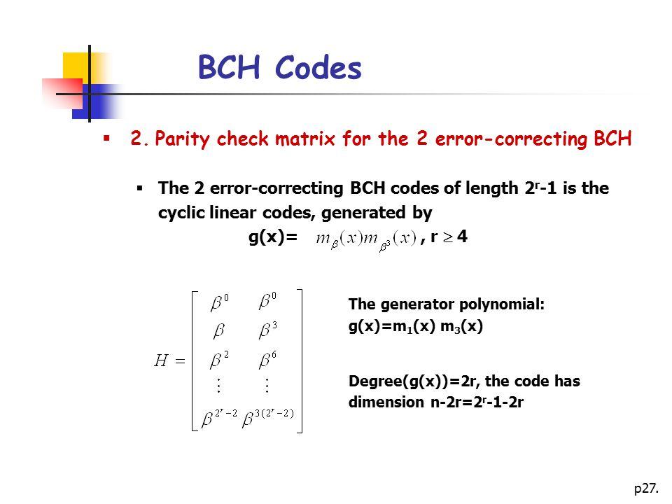 p27.BCH Codes  2.