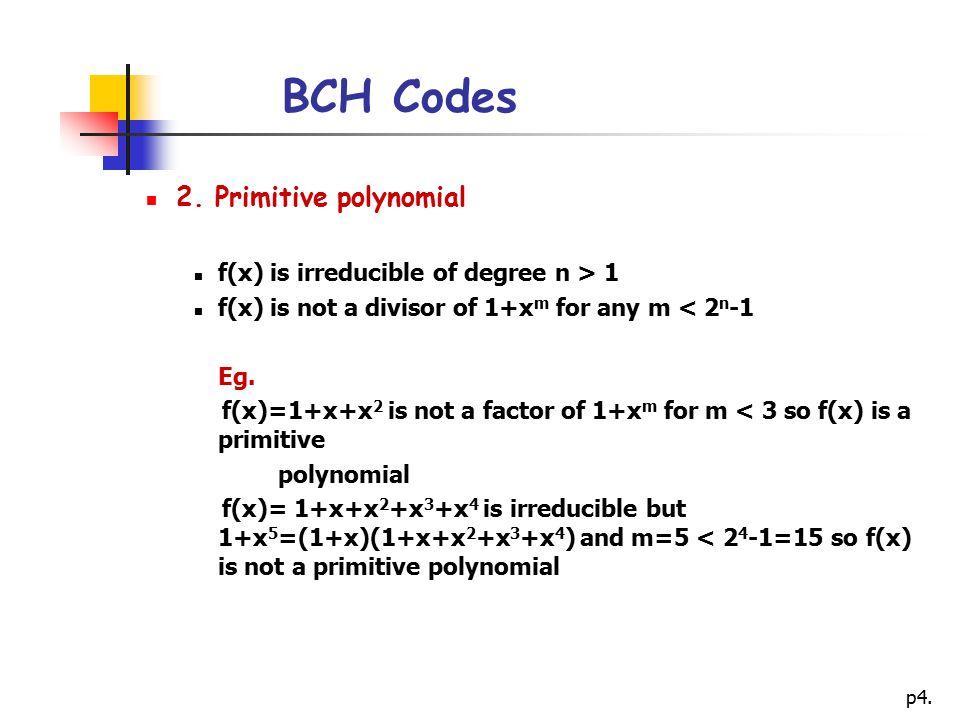 p4.BCH Codes 2.