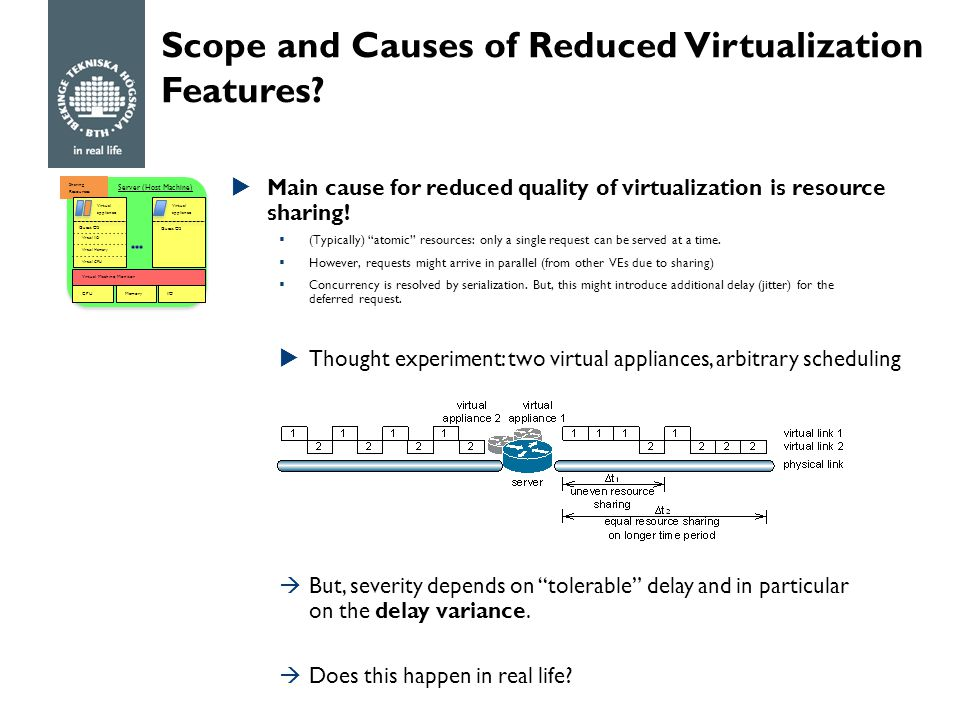 Scope and Causes of Reduced Virtualization Features.