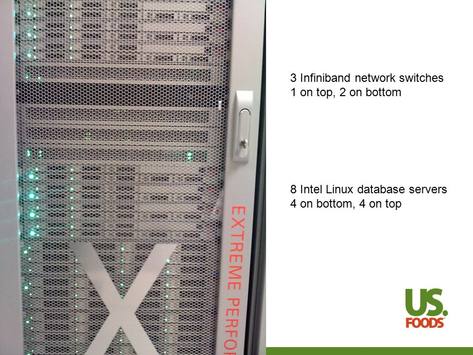 What is standard about Exadata.