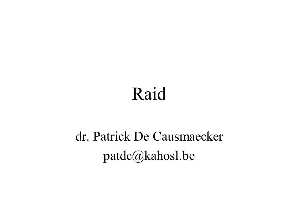 Raid dr. Patrick De Causmaecker patdc@kahosl.be