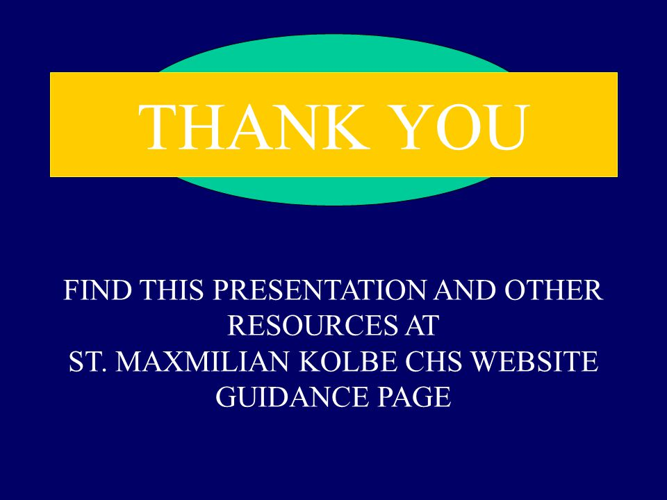 THANK YOU FIND THIS PRESENTATION AND OTHER RESOURCES AT ST.