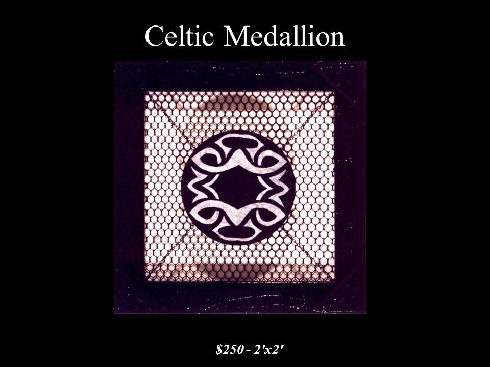 Celtic Medallion $250 - 2'x2'