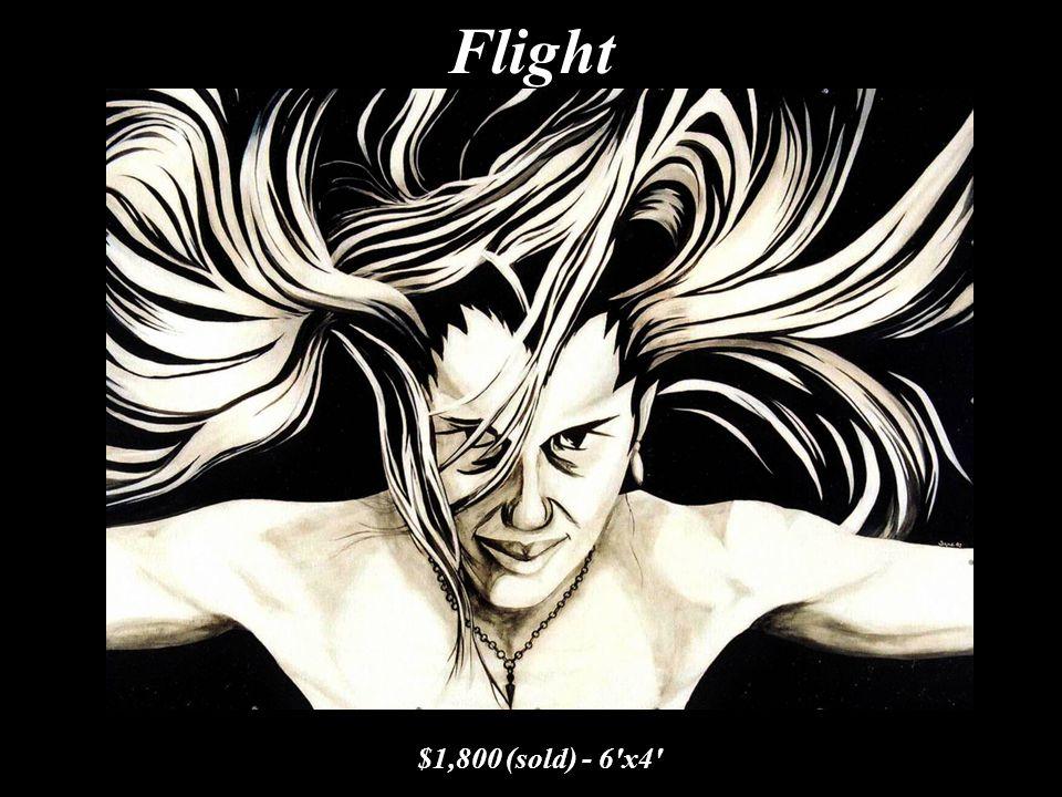 Flight $1,800 (sold) - 6'x4'