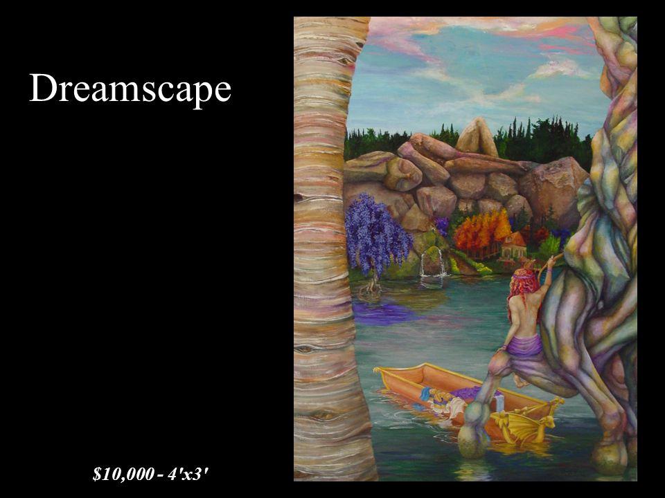 Dreamscape $10,000 - 4'x3'