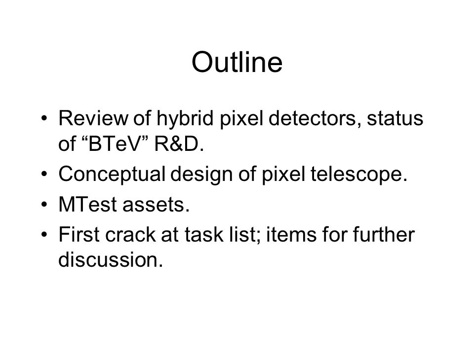 What is a Hybrid Pixel Detector.