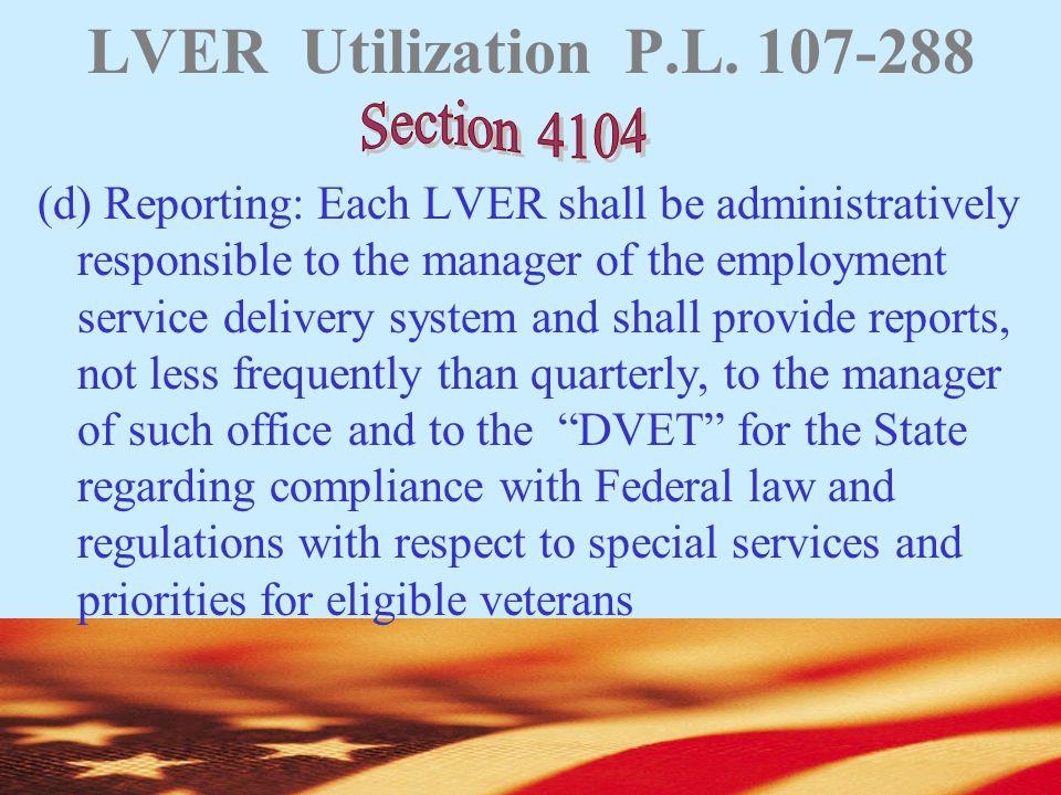 LVER Utilization P.L.