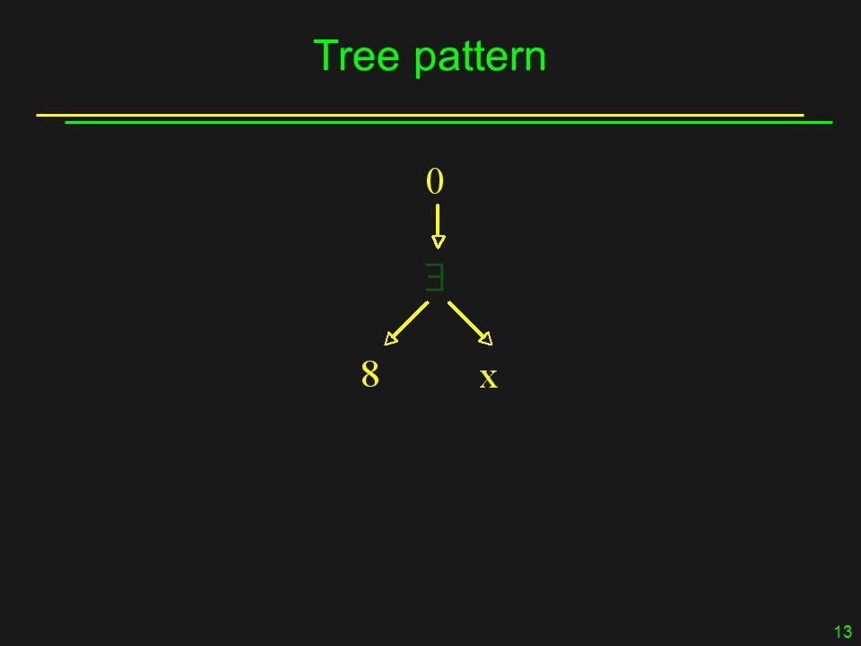 13 Tree pattern