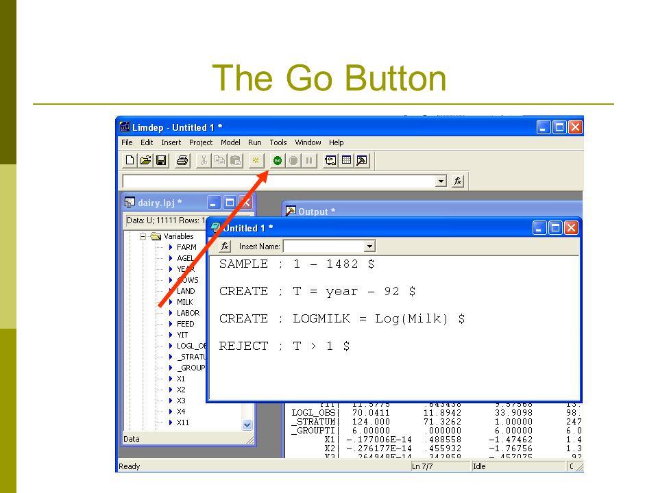The Go Button