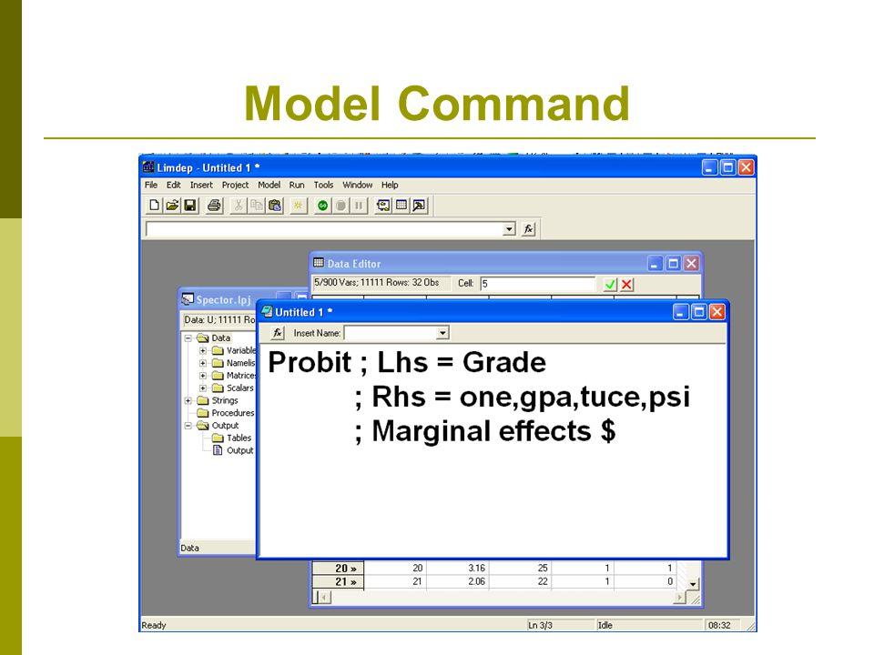 Model Command