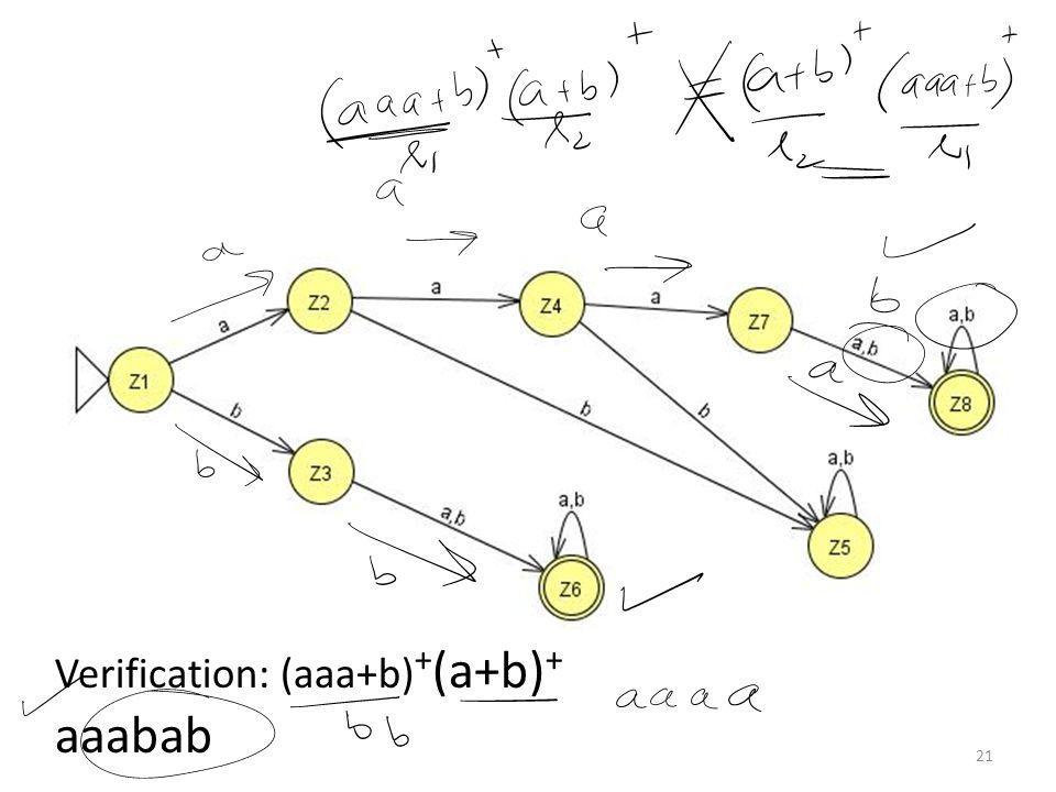 Lecture 10 Summary Kleene Theorem Part III (Union) – Repeat Kleene Theorem Part III (Concatenation) Kleene Theorem Part III (Examples) 22