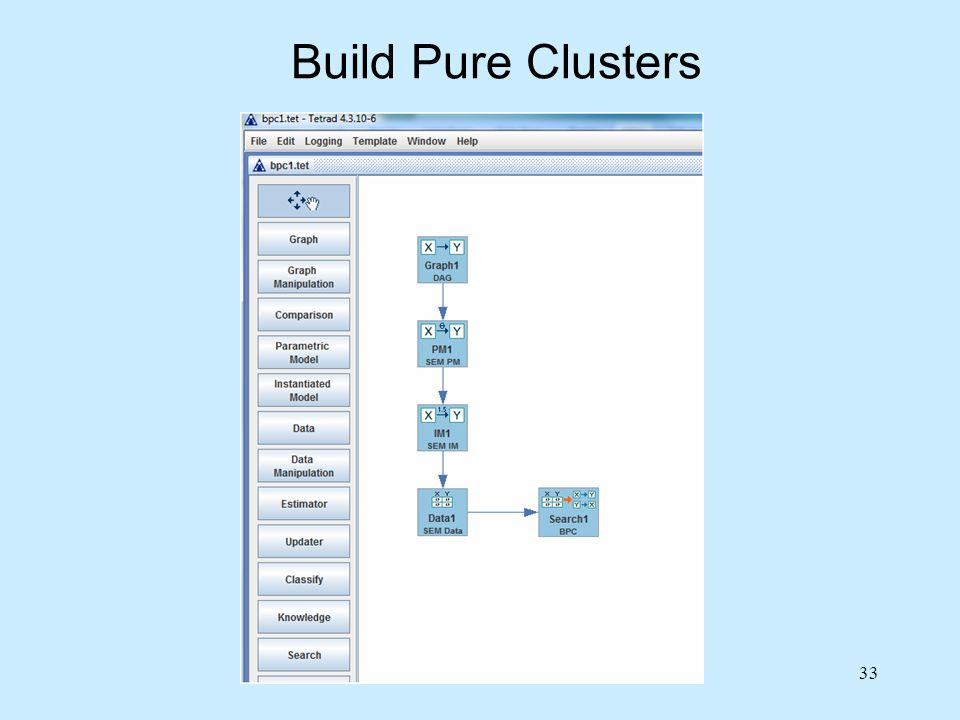 33 Build Pure Clusters