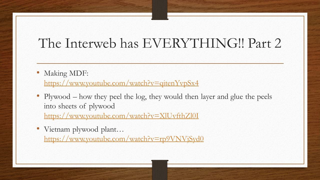 The Interweb has EVERYTHING!.